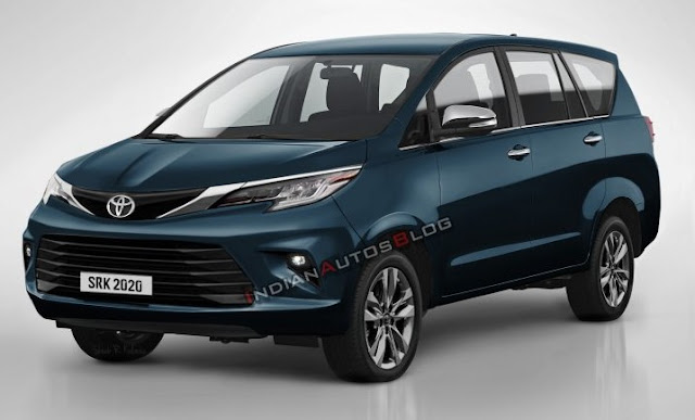 2021 toyota innova crysta facelift  ms blog