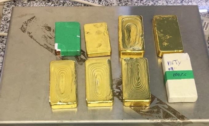 PF prende 20 em ação de combate ao contrabando de ouro brasileiro