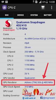 Cara Mengetahui Jenis GPU Semua Tipe HP Android