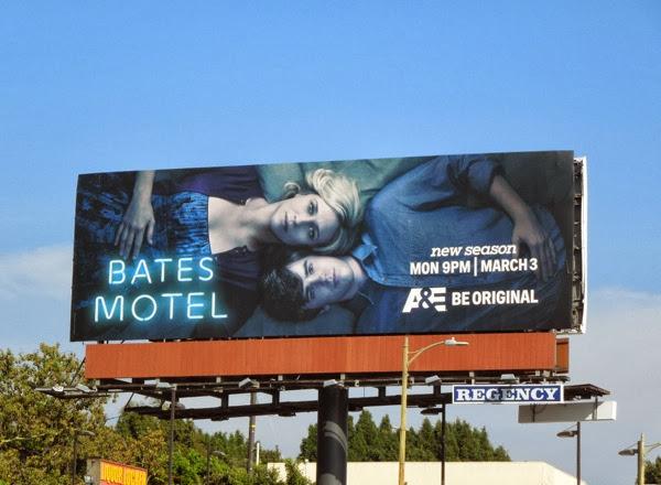 Bates Motel season 2 billboard