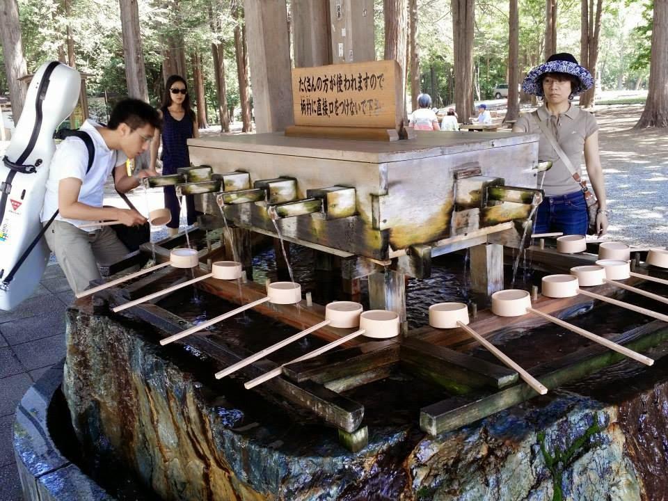 Hokkaido Jingu Shrine Purification