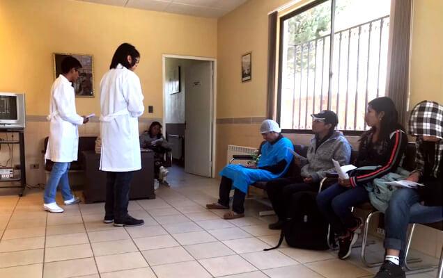 Pacientes de hemodiálisis en La Paz, Bolivia