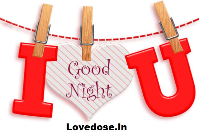 heart-touching good night love image