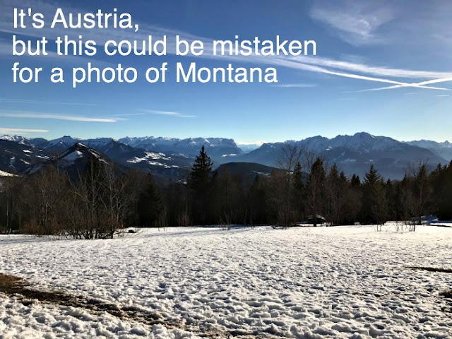 The alps of Austria