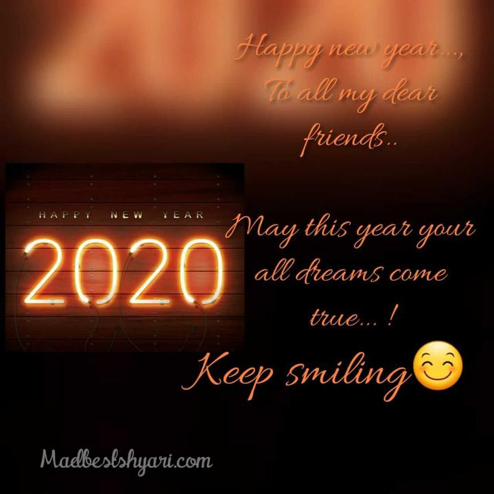 happy new year 2020 status