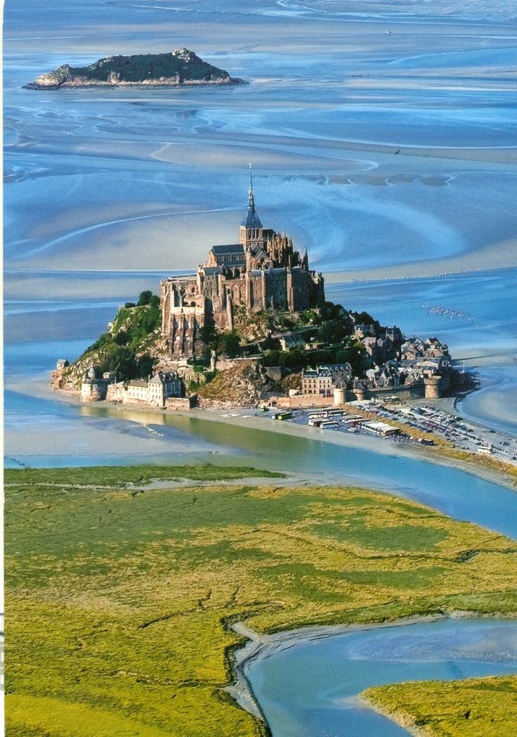 Castillo Castle Mont Saint Michel France A1 Pictures