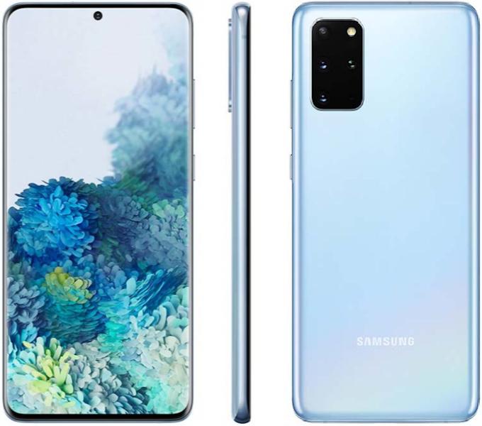 موبايل سامسونج Galaxy S20 Plus بسعر 16999 جنيه على نون مصر