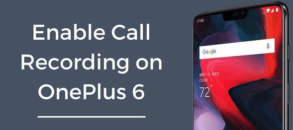Cara Merekam Panggilan Otomatis di OnePlus 6