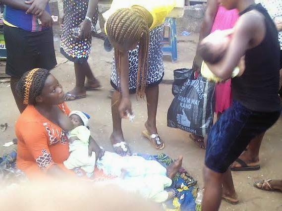 triplet nursing mother awka market anambra
