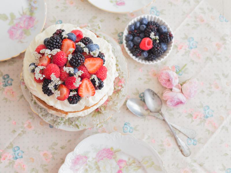 Entre Harinas, Sponge cake
