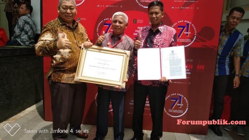 Peringatan HAM se-Dunia ke-71, 3 Tahun Berturut-turut Pemkab Asahan Raih Penghargaan