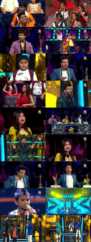 Screenshots Of Hindi Show Superstar Singer 20th July 2019 Episode 07 300MB 480P HD