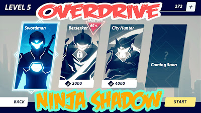 تحميل لعبة overdrive ninja shadow