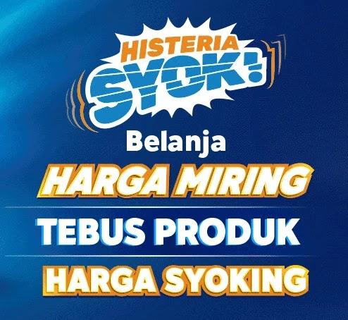 Promo Harbolnas Histeria Syok
