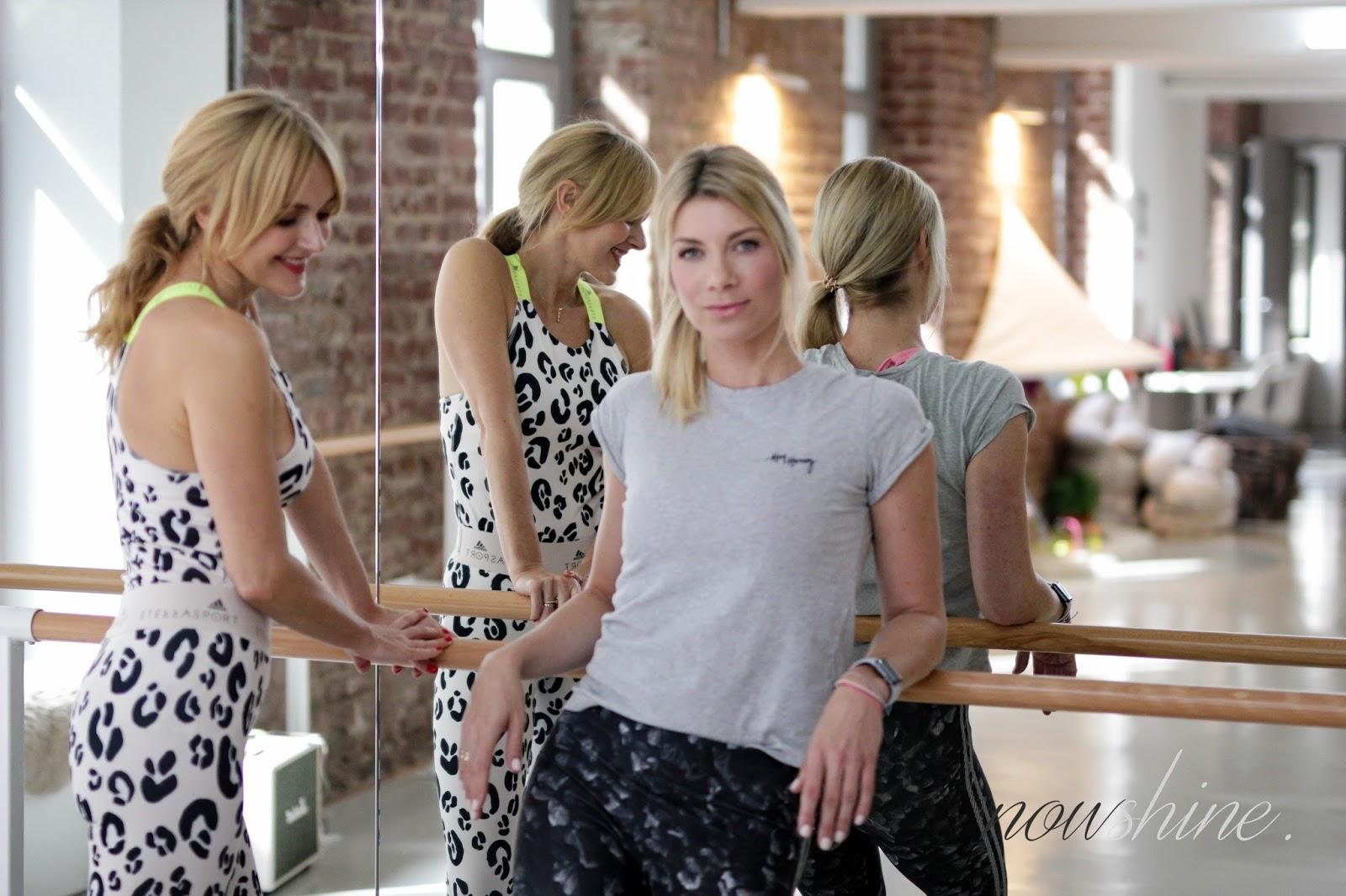 Cornelia Dingendorf und Nowshine im Youpila Studio in Düsseldorf - Nowshine Fitness über 40