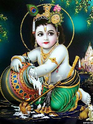 krishan bhagwan ki bachpan ki photo wallpaper download