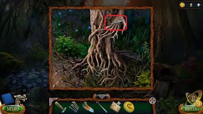 в руке древесной статуи лежит стрела в игре затерянные земли 4 скиталец