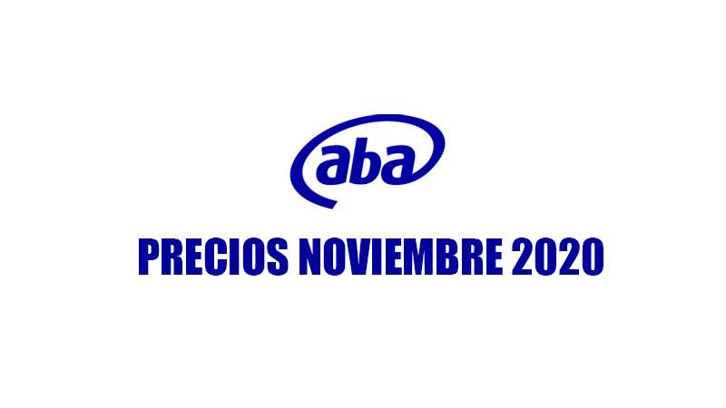 Precios ABA de Cantv (noviembre 2020)