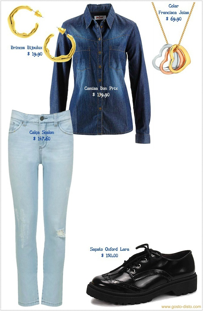 Looks em total jeans