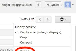 Mengganti Font Standar pada Gmail