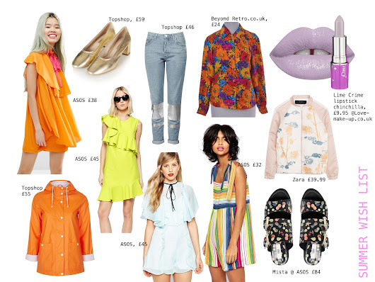 MIA; Summer wish list! - The Mermaid Wardrobe