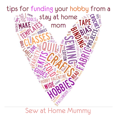 how to fund your hobby without working outside the home | tips and tricks on making money for crafting quilting sewing from a stay at home mom | Sew at Home Mummy