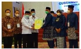 KPU Provinsi Jambi Gelar Pleno Penetapan Gubernur Terpilih Periode 2020-2024