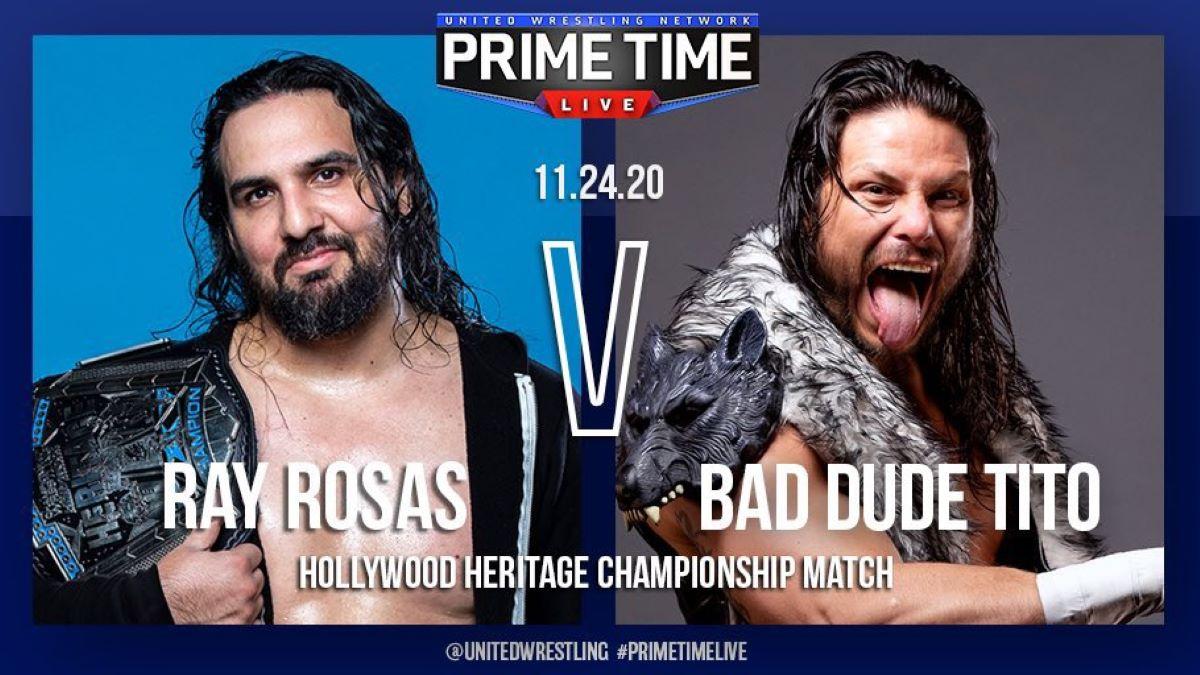 Cobertura: UWN Prime Time Live (24/11/2020) – Ele vence, vence e vence!