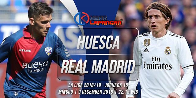 Prediksi Bola Huesca vs Real Madrid Liga Spanyol