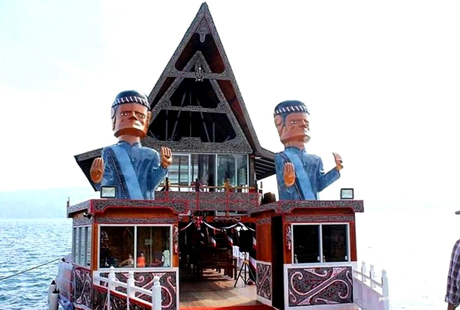 Kapal Wisata Pemerintah Kabupaten Samosir Resmi