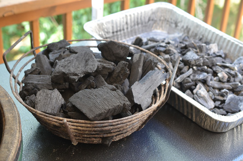 Kick ash baskets help make it easier to recycle used coal and build a better breathing fire.
