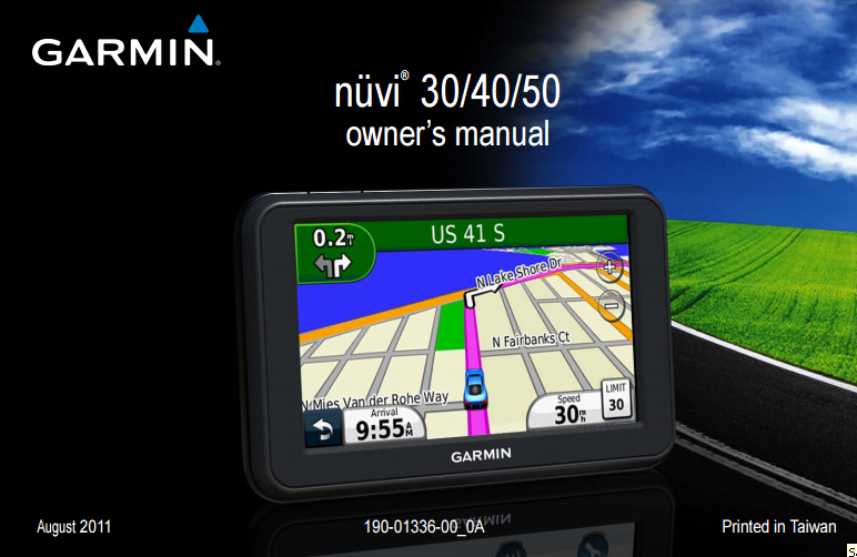 Garmin nuvi 40 manual espanol.