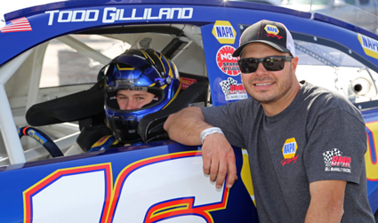 Family Tradition Continues For Gilliland At Monroe Track #nascar