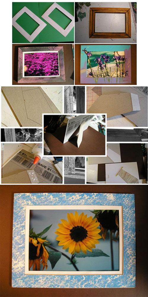 Cara Mudah Membuat Bingkai Foto Figura Bahan Bekas - Cara ...