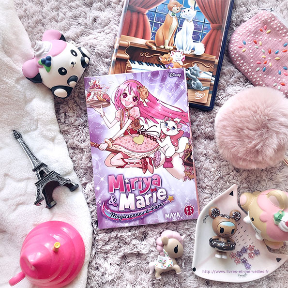 Miriya & Marie magicienne à Paris - manga Disney nobi nobi