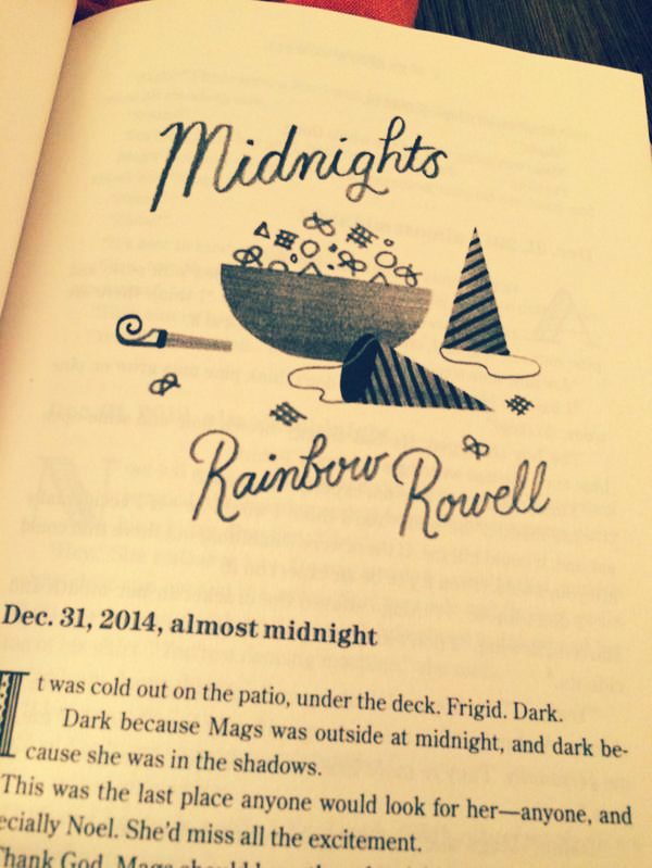 Midnights By Rainbow Rowell Review Kirstens Book Nook Calling