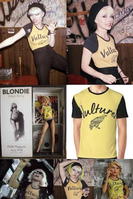 Vultures Blondie Debbie Harry shirt.  PYGear.com