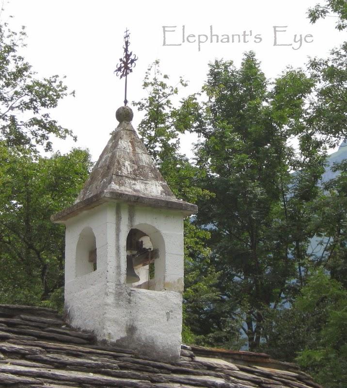 Church from Turtig=Raron in Wallis