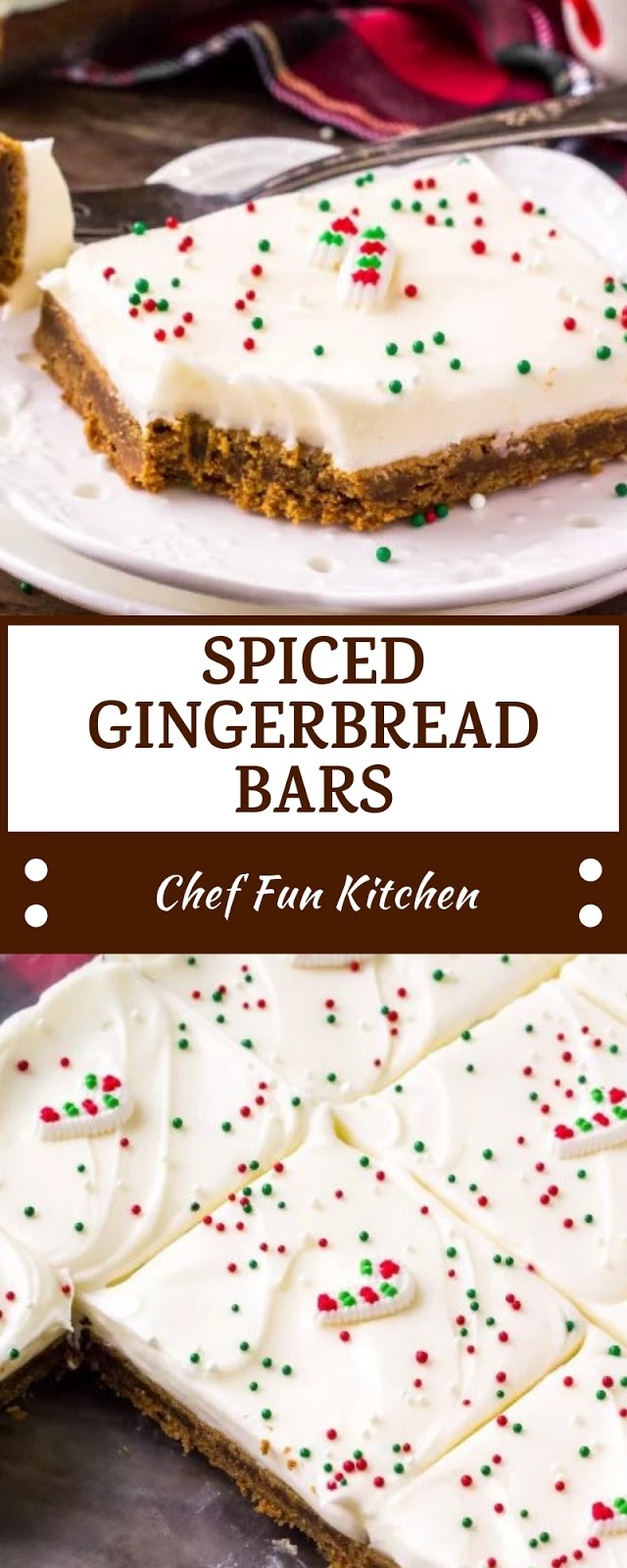SPICED GINGERBREAD BARS