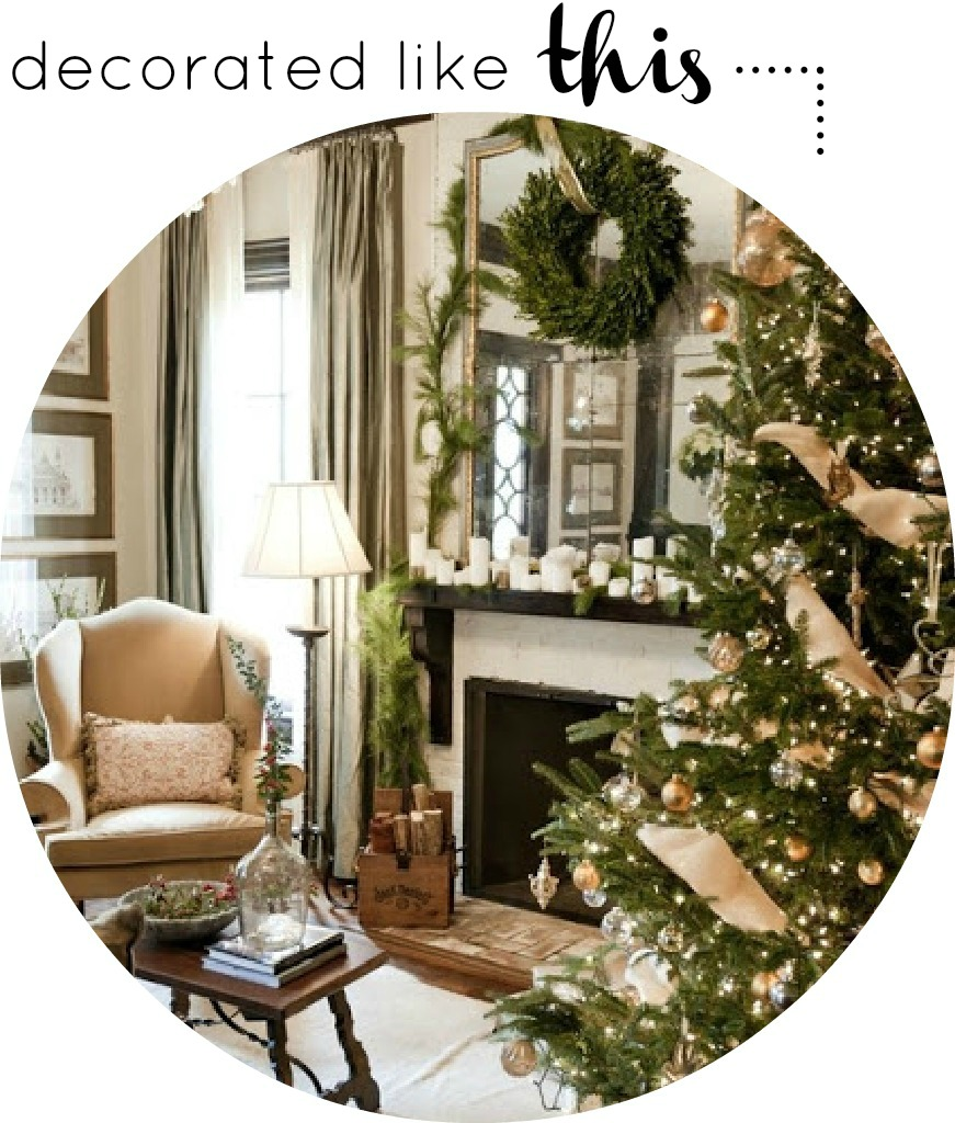 How To Make Country Style Christmas Decorations | Modern ...