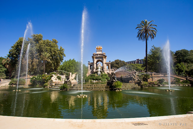 Travel to Barcelona: O expediție în capitala Catalunyei. Silviu Pal Blog. #TravelBlogger Parc de la Ciutadella