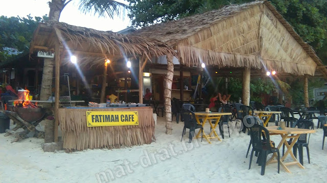 Tempat Makan Murah di Coral Bay Pulau Perhentian Terengganu