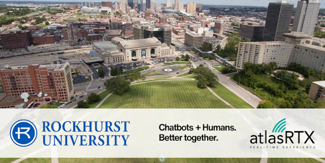 Rockhurst University will be implementing EduBot, a conversational AI-powered chatbot from AtlasRTX, to improve the customer experience on the Rockhurst University website.