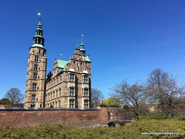 El palacio de Rosenborg Copenhague