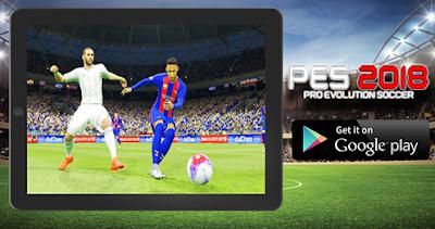 Download Game Pes 2018 Android MOD APK Terbaru