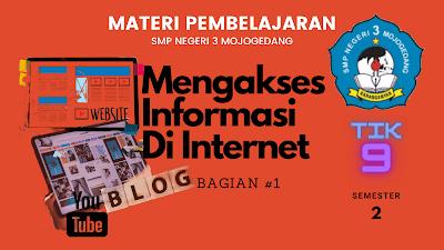Akses Situs Informasi Di Internet