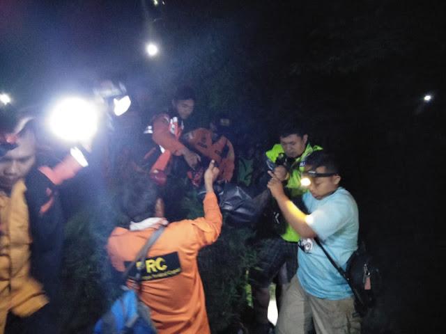 Jazad Suwarto Akhirnya Ditemukan Tim Gabungan di Air Terjun Curug Ciputut