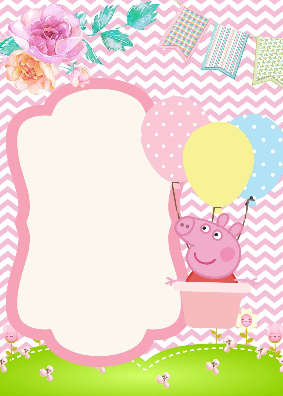 11 Convite De Aniversario Gratis Para Baixar Peppa Pig