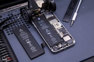 tips mengganti baterai iphone