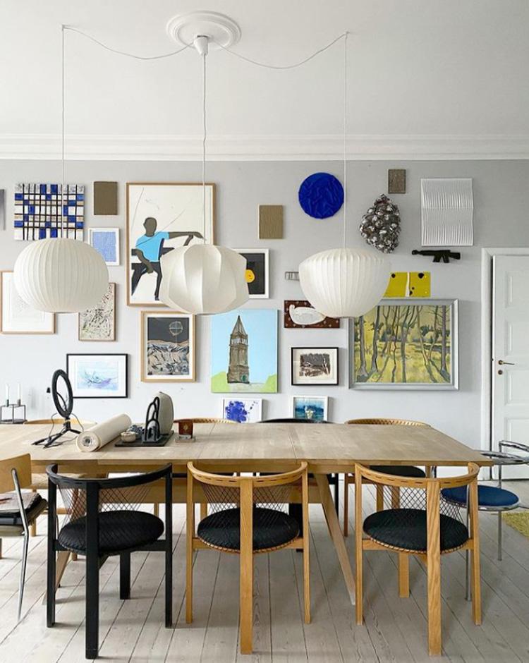 A Delightful Danish Family Home Full of Art and Design